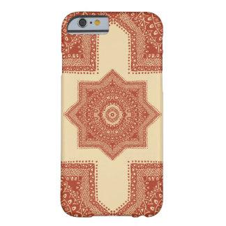 赤いモロッコパターン BARELY THERE iPhone 6 ケース