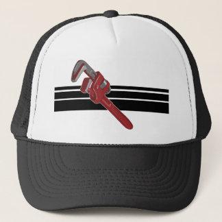 赤いレンチのトラック運転手の帽子 キャップ