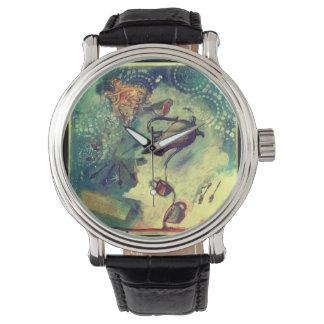 赤いロビンの茶メドレー 腕時計
