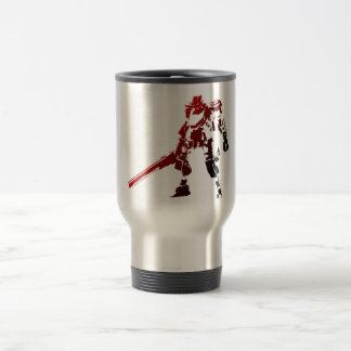 赤いロボットコーヒーカップ トラベルマグ