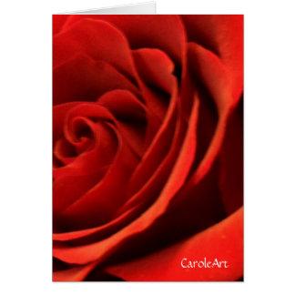 赤いロマンスは上がりました カード