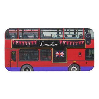 赤いロンドンバス二重デッカー iPhone 5 ケース