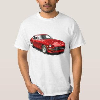 赤いヴィンテージのクラシックなZ車のTシャツ Tシャツ