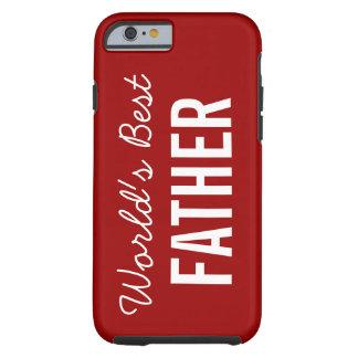 赤い世界で最も最高のな父の習慣のiPhone6ケース ケース
