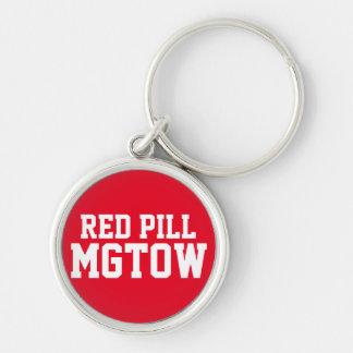 赤い丸薬MGTOW キーホルダー