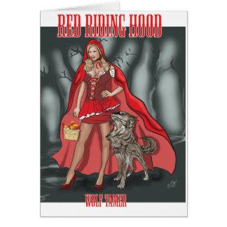 赤い乗馬フード-より飼いならされたオオカミ カード