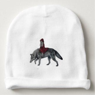 赤い乗馬フード ベビービーニー