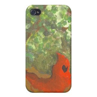赤い乗馬フード iPhone 4/4Sケース