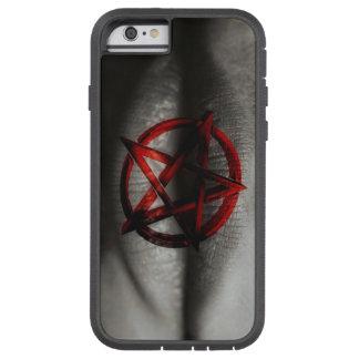 赤い五芒星の口 TOUGH XTREME iPhone 6 ケース