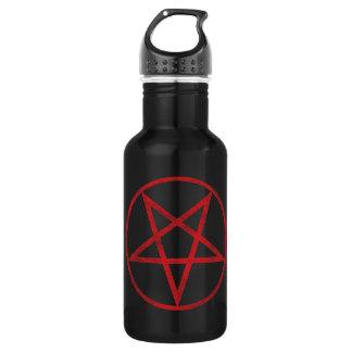 赤い五芒星 ウォーターボトル