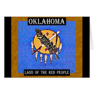 赤い人々のオクラホマの土地 カード