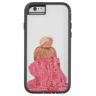 赤い休日または冬のセーターのiPhoneの箱 Tough Xtreme iPhone 6 ケース