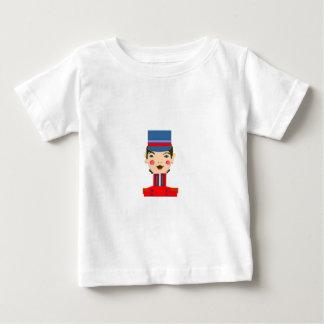 赤い兵士 ベビーTシャツ