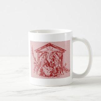 赤い出生 コーヒーマグカップ