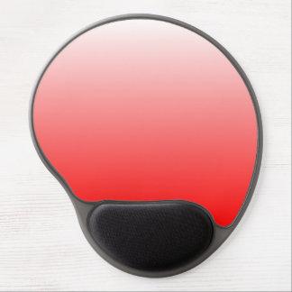 赤い勾配 ジェルマウスパッド