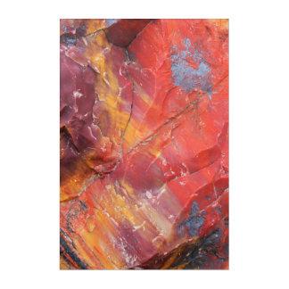 赤い化石木の詳細、アリゾナ アクリルウォールアート