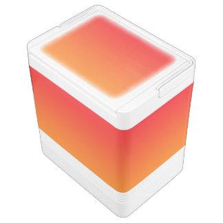 赤い及びオレンジグラデーション クーラーバスケット