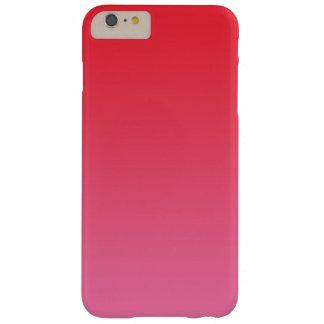 赤い及びピンクのグラデーション BARELY THERE iPhone 6 PLUS ケース