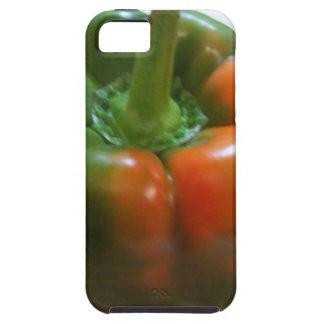 赤い及び緑コショウ iPhone SE/5/5s ケース