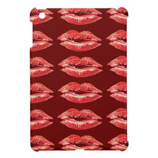 赤い唇のキスのiPad Miniケース iPad Miniカバー