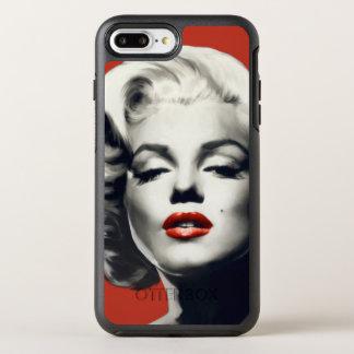 赤い唇マリリンの赤 オッターボックスシンメトリーiPhone 8 PLUS/7 PLUSケース