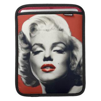 赤い唇マリリンの赤 iPadスリーブ