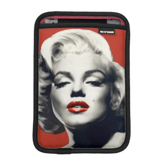 赤い唇マリリンの赤 iPad MINIスリーブ