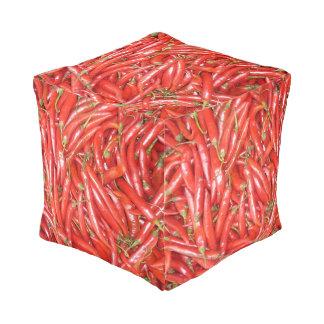 赤い唐辛子 プーフ