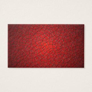 赤い多角形 名刺