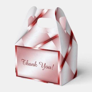 赤い大理石の幾何学的 フェイバーボックス