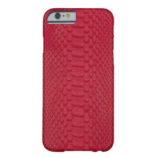 赤い大蛇 BARELY THERE iPhone 6 ケース