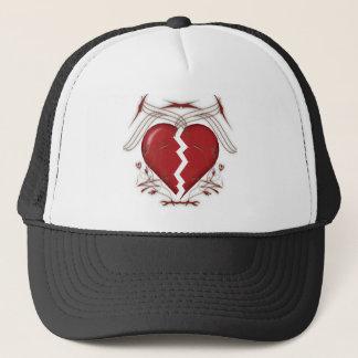 赤い失恋及び種族パターン-トラック運転手の帽子 キャップ