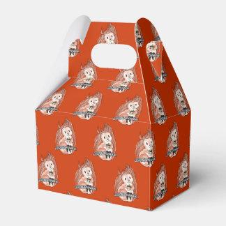 赤い好意箱のリスの休日パターン フェイバーボックス