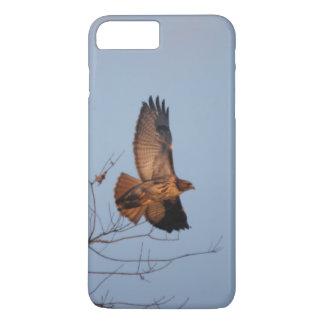 赤い尾タカ iPhone 8 PLUS/7 PLUSケース