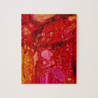 赤い崖の大きい石 ジグソーパズル