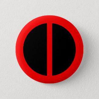 赤い平等ボタン 5.7CM 丸型バッジ