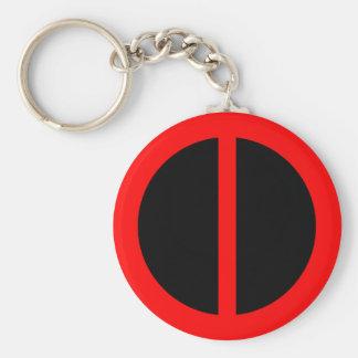 赤い平等Keychain キーホルダー