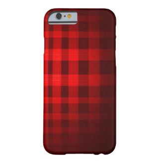 赤い幽霊のタータンチェックパターン BARELY THERE iPhone 6 ケース