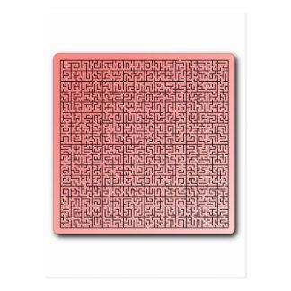 赤い当惑 ポストカード