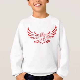 赤い急襲のワシかタカ1 スウェットシャツ