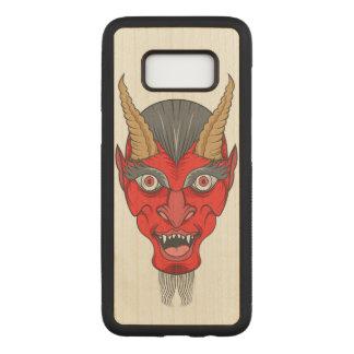 赤い悪魔のイラストレーション CARVED SAMSUNG GALAXY S8 ケース