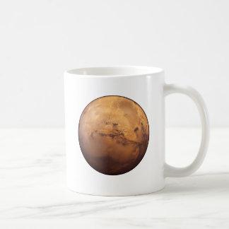 赤い惑星の火星 コーヒーマグカップ