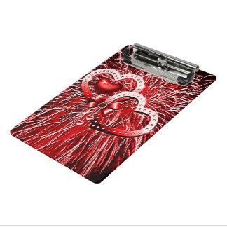 赤い愛花火 ミニクリップボード