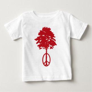 赤い感情 ベビーTシャツ