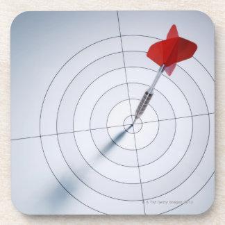 赤い投げ矢 コースター