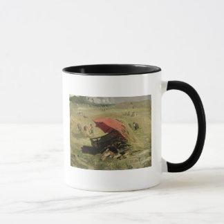 赤い日よけ、c.1860 マグカップ