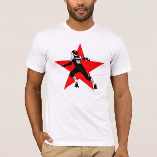 赤い星の妨害機 Tシャツ