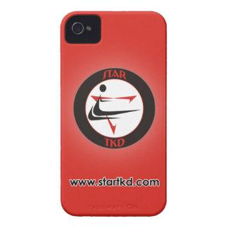 赤い星の武道のiPhoneの箱 Case-Mate iPhone 4 ケース