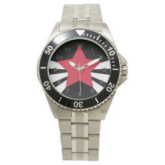 赤い星の破烈の腕時計 腕時計