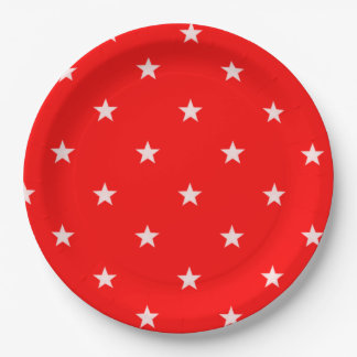 赤い星の紙皿BEALEADER ペーパープレート